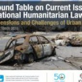 """43rd Sanremo Round Table on """"New Dimensions and Challenges of Urban Warfare""""- Don't miss the 3rd webinar of the series"""